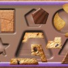 [iPad, iPhone] YumYum パズル!: クッキーやチョコで図形を覚える知育パズル。