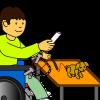 OTのスゴ技(作業療法士) ICTが、重度身体障害者の世界を広げる