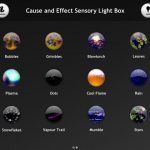 記事再掲「iPad版のアプリCause and Effect Sensory Light Box がPCとMac版で」